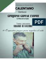 EL CALENTANO. Bambuco. Gregorio García Florez. Transc. piano Gerardo Betancourt.
