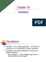 Ch18 Lecture - Oscillators