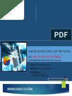 APLICACIÓN DE LAS TIC'S EN EL SECTOR ECONOMÍA