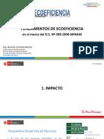Fundamentos de  Ecoeficiencia-TRABAJA PERU-MTPE