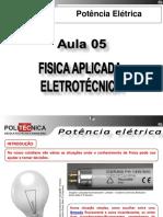 ELE102 - Revisão de Física Aplicada à Eletro-Eletrônica - Aula 05