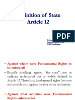 7. Article 12- Definition of 'State' (1)
