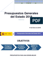 14-01-19 Presentación PGE 2019 Congreso