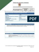 Mecánica de Sólidos - Contenido Programatico (2)