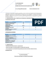 INFORME EJECUTIVO AVANCES DE METAS DD-COTOPAXI 2020