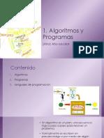1. Algoritmos y Programas