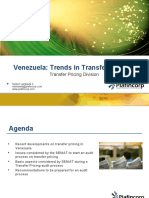 Trends on Transfer Pricing in Venezuela