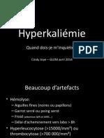 hyperkaliemie