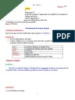 P1S1 3AM préparation de l_écrit