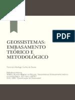 A teoria - geossistema