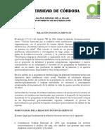 COMPETENCIAS  Y DELEGACION PROGRESIVA DE RESPONSABILIDADES 2019