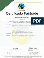 Certificado FLO - Español MACHUPICHU