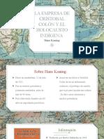 Presentacion Reseña Cristóbal Colón