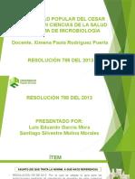 RESOLUCIÓN 785 DEL 2013 ORIGINAL