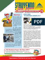 BOLETIN-CONSTRUYENDO-23 LOSA ENCOFRADO Y FIERRO ASI COMO SEGURIDAD EN EDIFICACION.pdf