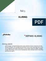 Bab 5 Kliring