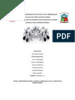 MINISTERIO DE RELACIONES  LABORALES EN RELACIÓN CON LA INDUSTRIA ALIMENTARIA (2)
