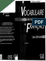 Vocabulaire Progressif du Francais_Niveau Avance.pdf