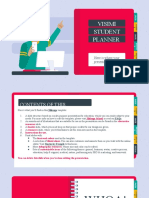 Visimi Student Planner by Slidesgo