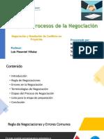 Reglas, Errores y Procesos de la Negociación (1)