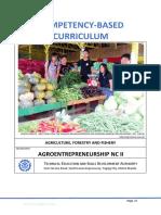 CBC Agroentrepreneurship NCII