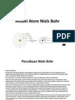 Model Atom Niels Bohr