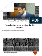 How to Avoid Plagiarism - S. Omar