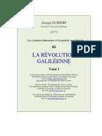 Gusdorf -Revolution Galileenne t1
