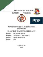 UNIVERSIDAD PÚBLICA DE EL ALTO-Autismo1