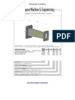 Waveguide Transitions - LTEQ MICROWAVE