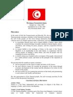 tunisian constitution