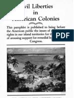 ACLU, Civil Liberties in American Colonies