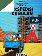 Tintin Ekspedisi Ke BUlan
