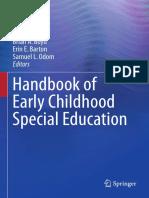 Brian Reichow, Brian a. Boyd, Erin E. Barton, Samuel L. Odom (Eds.) - Handbook of Early Childhood Special Education-Springer International Publishing (2016)
