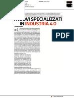 I nuovi specializzati in Industria 4.0 - Corriere Innovazione del 18 dicembre 2020