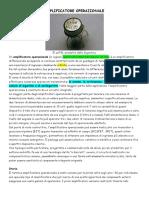 AMPLIFICATORE_OPERAZIONALE_Introduzione