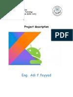 project description برمجة عملي