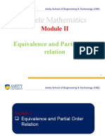 DMS_Mod-2_L4_Equvalence and partial order Relation