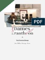 Carte des massages - Hôtel Les Dames du Panthéon, Paris