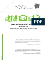 RAPPORT THE BEIT PROJECT 2013-2014