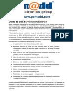 Inchiriere Echipamente IT - PC Madd