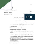 Arrêt cour de cassation 18-24287 du 10 juin 2020