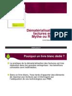 Présentation Livre blanc Yooz - Dématérialisation des factures en PME