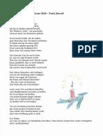 Weihnachtsgedicht Von Eva Weber2020