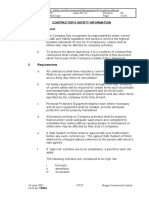 F008A Contractors Safety Information