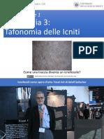 Andrea Baucon, Corso Di Paleontologia - Lezione 4 Parte 1 - Tafonomia 3 (Tafonomia Delle Icniti)