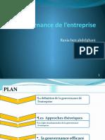 La gouvernance de l'entreprise.pptx