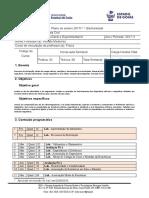 Plano de Ensino 20171 FÍSICA EXPERIMENTAL III ENGENHARIA CIVIL MODELO NOVO