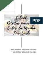 Café da Manhã - Low Carb