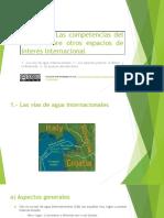 Tema 10. Competencias del Estado sobre otros espacios de interés internacional